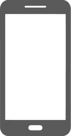 A png icon of a mobile phone